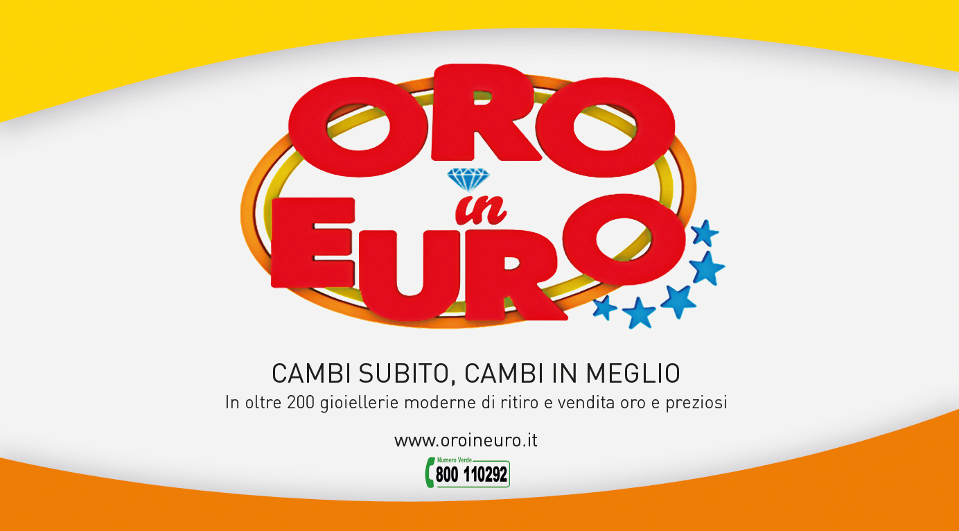 ORO IN EURO TORNA IN TV